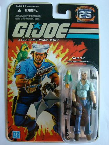 Gi Joe Shipwreck G.i. joe w3: sailor