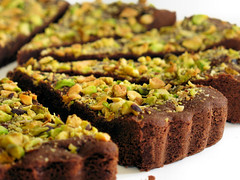 chocolate and pistachio wedges  4724 R