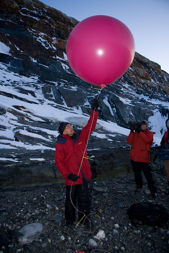 Sunand Prasad's climate change installation in The Arctic