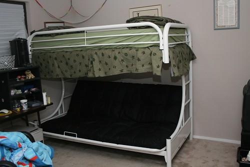 Jamies New Cool Kid Bed
