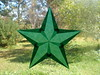 Dark Green 5-pointed Star For Christmas Or A Waldorf-inspired Home