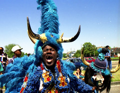 Wild Man (Ed Newman) Tags: louisiana neworleans supersunday mardigrasindians