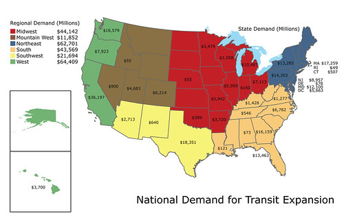 National Demand for Transit Expansion