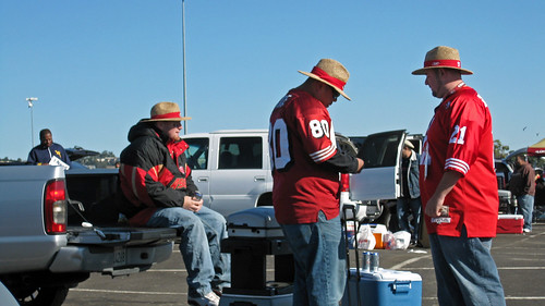 49er Game- Neighbors