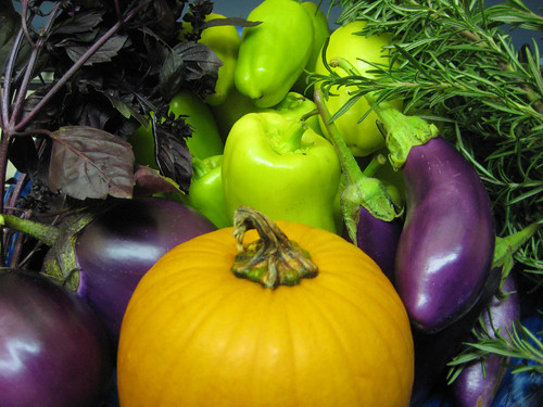 Beautiful Colors of Fall Produce