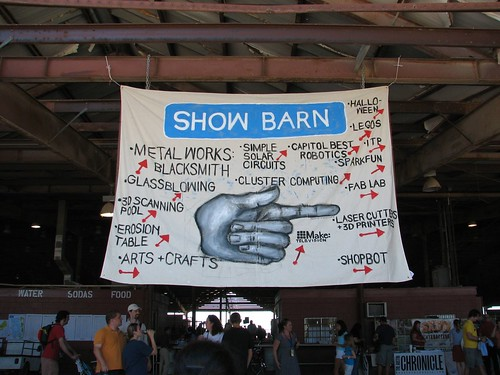 lovely sign for the show barn