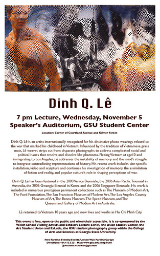 Dinh Q. Le @ GSU Student Center