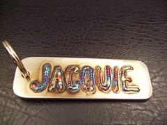 Jacquie's keychain