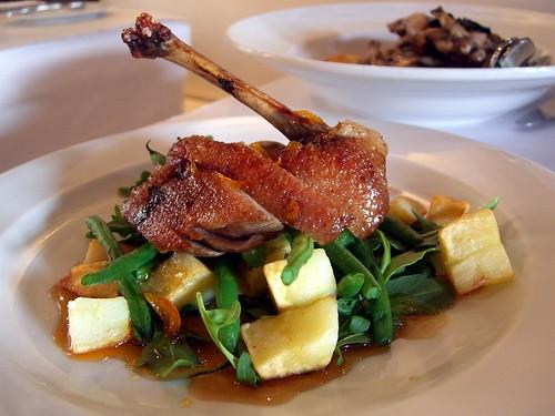 orange french restaurant duck beans bistro potato glaze marmalade fillet kyneton anniesmithersbistro theagegoodfoodguide2009 onechefhat