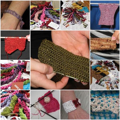 Tilli Tomas yarn tasting (mosaic)