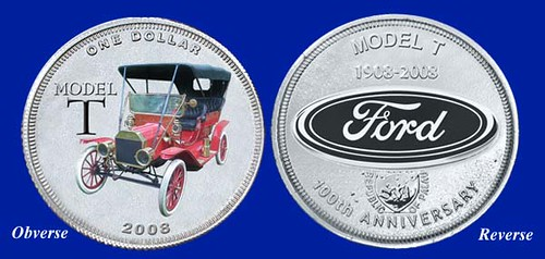 National Collectors Mint Model T Ford