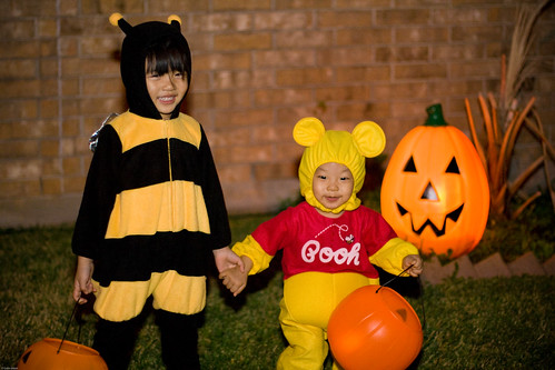 Happy Big Bee & Mini Pooh