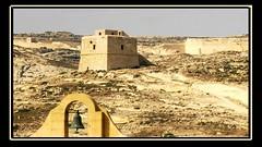 Malta - Alter Festungsturm auf Gozo, M73 (roba66) Tags: malta insel steine gozo