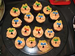 Halloween Catcakes (meanmustard1982) Tags: michigan annarbor staff northcampus faculty universityofmichigan collegeofengineering halloween2008 october312008