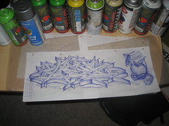 Sketch for piece (KING YNOT LIVES) Tags: art pen silver graffiti sketch losangeles freestyle montana miami walmart 94 hardcore mtn atomic krylon rustoleum southcentral ballpoint wildstyle atomik atomick