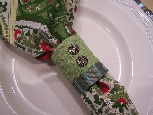 Make Your Own Napkin Rings <br> (Easy Craft!)