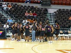 U. Texas vs. Houston Jaguars exhibition game
