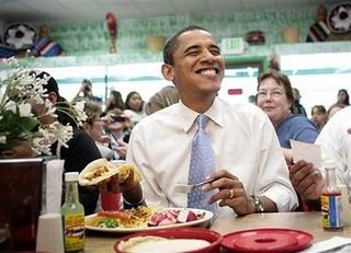 obama for tacos