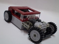 "Hot Rod ""Blood Hound"""