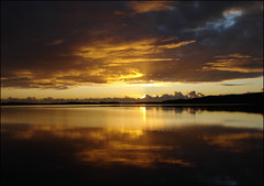 sunset (helena.e) Tags: sunset reflection water explore alingsås mjörn abigfave anawesomeshot helenae saxebäcken helenab