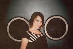 Photoshop Fun (Matt Andrews Photo) Tags: texture model circles mirrors halo ringlight hairmodel
