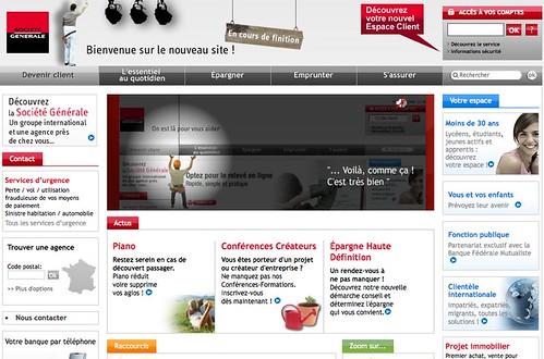 Un nouveau site pour la Société Générale | blAblAwEb – le blog de ...