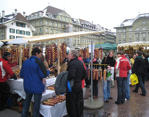 Bern Onion Market, Switzerland