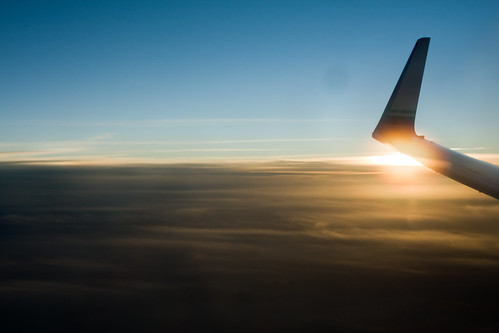 Sunset on the Wing