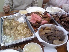 Thanksgiving dinner Chinese style (Da Fong) Tags: with take helio