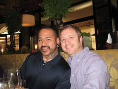 Toro and Tim. (11/29/2008)