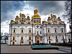 Kiev-Pechersk Lavra 6 (Grete Howard) Tags: cathedral religion ukraine caves monks christianity catacombs kiev kievpechersklavra cavescomplex
