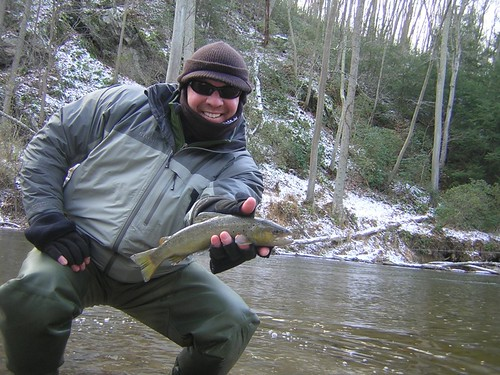 Winter Fly Fishing and Wild Gunpowder Brown Trout