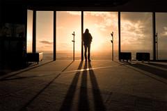 energias (sadaiche (Peter Franc)) Tags: windows sunset sky sun tourism sunshine silhouette clouds carpet three long shadows angles 88 eurekatower muted anawesomeshot