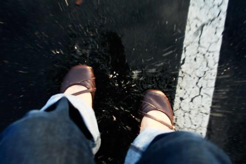 puddle jump!