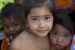 Children-Cambodia (kinginexile) Tags: girls baby kids portraits children eyes asia cambodia smiles streetlife itsong–mirrors–southeastasia