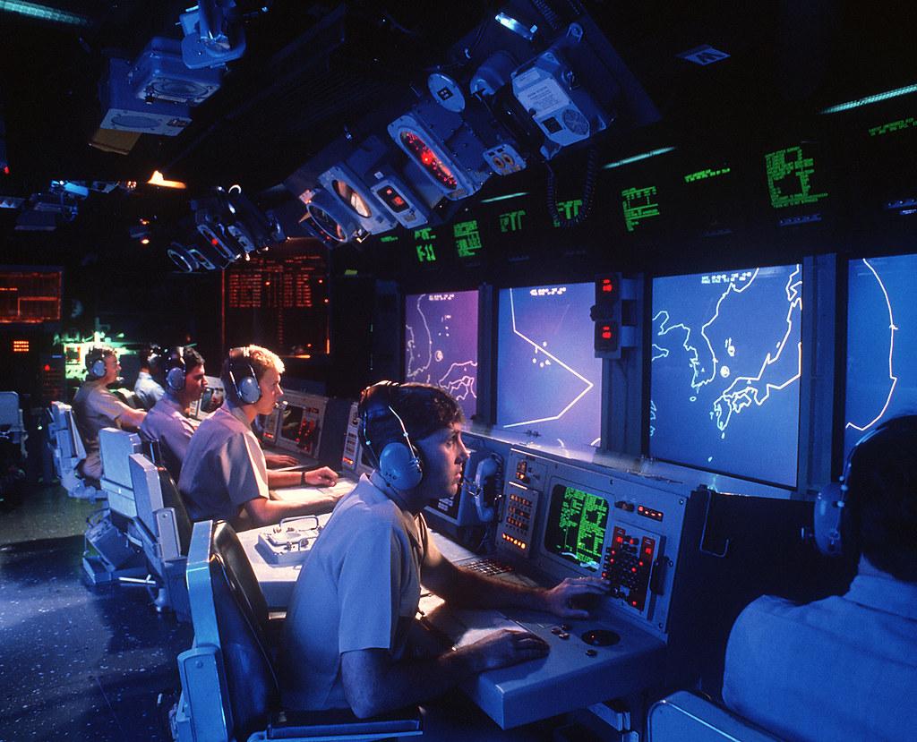 USS Vincennes (CG-49) Combat Information Center