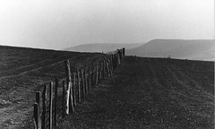 Firle beacon, East Sussex (vanishing eye) Tags: firle beacon south downs sussex landscape hills fence fields