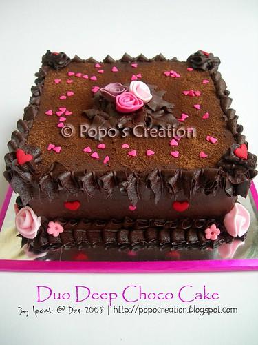 Deep Choco Cake fo Erika