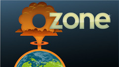 Ozone Logo (sketchy pictures) Tags: pictures green illustration sketchy logo design graphic earth space explosion nuclear recycle bomb ozone boyle envoirnment ryanboyle sketchypictures