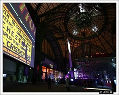Grand Palais - Dans la nuit des images (JP2H) Tags: paris art architecture europe nef exhibition exposition grandpalais architecturemetallique steelarchitecture architecturedefer danslanuitdesimages