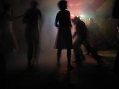Twistin' The Beast Away... (Robert Saucier) Tags: blur night dance belgium belgique danse noflash nuit ghent gent gand flou artcafe img9607