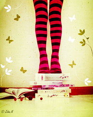 I have rised up by my university books... (*Zoha.Nve) Tags: flowers texture socks butterfly book nikon purple books marble lr textured lightroom dib zoha 365days explored  explored5 zohan nikonp5100 nikoncoolpixp5100   universitybooks