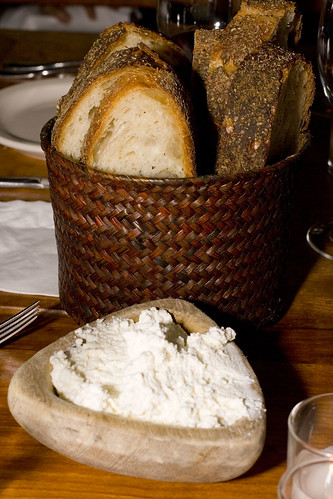 Rustic Bread with Ricotta