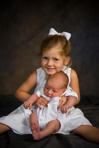 With big Sis