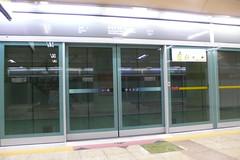 효창공원역 플랫폼