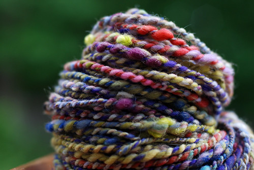 v handspun yarn 062
