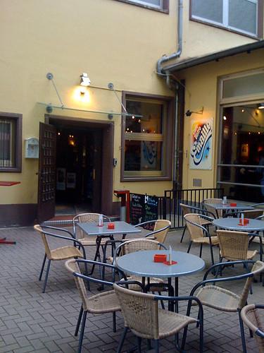 Außenbereich - Café Emaille