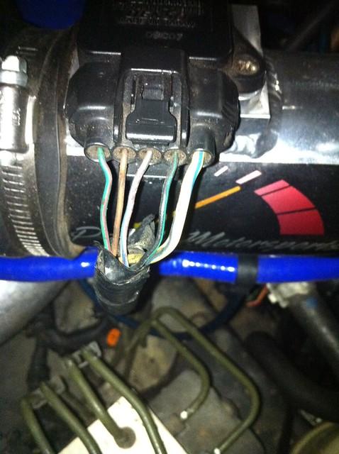 maf pinout - i-club subaru maf sensor wiring