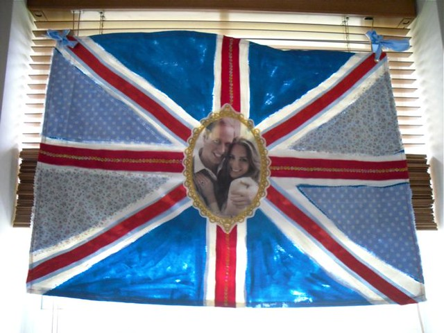 Connie's Kate and Wills Flag