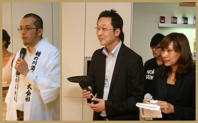 We were privileged to have the sake master and representatives from Tatenokawa Inc brewery at the masterclass